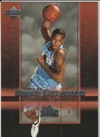 Carmelo Anthony 2003-04 Upper Deck Rookie Exclusives #3 Rookie Card (B)