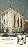 New York City Hotel Pennsylvania ART DECO 7th Ave c1910 Postcard