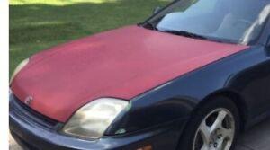 Honda Prelude Engine Hood OEM 1997 - 2001  1997, 1998, 1999, 2000, 2001