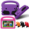 """Kids Cute Shockproof Handle Case For Samsung Galaxy Tab A 3 4 E Lite 7"""" Tablet"""