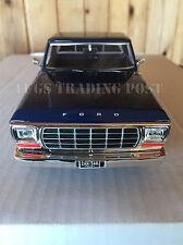 1979 Ford F-150 Blue Pickup Truck 1:24 Scale American Diecast - 79346BL