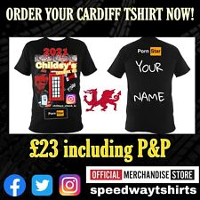 More details for childsy check in cardiff 2021 t shirt