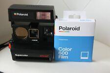POLAROID SUPERCOLOR 670 AF / Kamera Sofortbild - Vintage - Plus 10 Bilder-