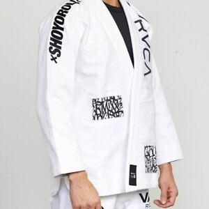 Shoyoroll RVCA BJJ Gi-Jiu-jitsu New white, Black Batch 105 Uniform /MMA Suit A2L