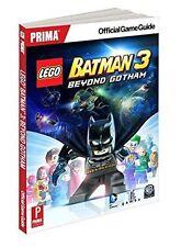 Prima Official Game Guide/Book - Lego Batman 3 Beyond Gotham - All Platforms