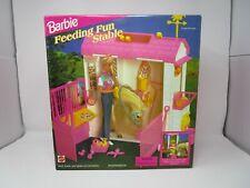 Feeding Fun Stable Playset 1996 BARBIE Mattel NEW Sealed Vintage