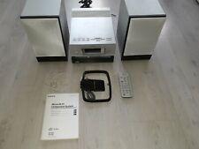 Sony Kompaktanlage Microanlage komplett mit Boxen CBX3