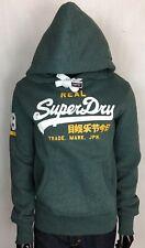 MEN'S REAL SUPERDRY HOODIE LABEL TRADE MARK JAPAN 28 GREEN