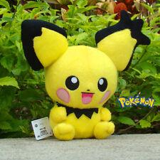 Pokemon Mini Pikachu 8'' Stuffed Doll Pichu Pocket Doll Anime Plush Kids Toy