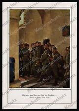 Arthur Kampf Westfront Landser Ostern Messe Kirche Pinon Aisne Picardie 1915