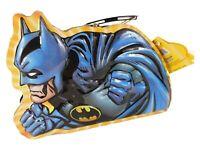 Warner Bros Batman Shaped 3D Lunchbox Tin Can with Handle & Batman Logo Tag