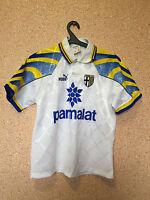 RARE PARMA ITALY 1996/1997 HOME FOOTBALL SHIRT JERSEY MAGLIA CAMISETA PUMA