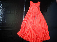 robe orange 8 ans MARESE TBE