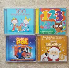 Childrens songs And Stories CD's