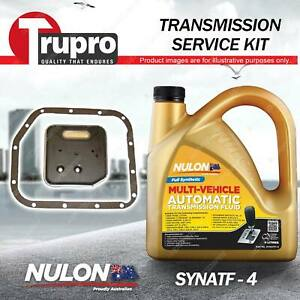 SYNATF Transmission Oil + Filter Service Kit for Jeep Grand Cherokee WJ WG 4.0L