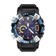 New listing Lemfo Lemd Smart Watch Men Wireless Bluetooth 5.0 Earphone 2 In 1 360*360 Hd
