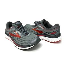 Brooks Glycerin 15 Size 9.5 Gray Road Men's Running Shoes 1102581D023 3D Stretch