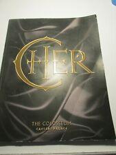 Cher: The Colosseum, Caesars Palace Vol. 1 program book Las Vegas music tour