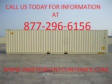 New 40' Shipping Container  Cargo Container  Storage Container in Chicago IL