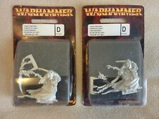 Lot of 2 New Limited Edition Chaos Sorcerer PR10 OOP Warhammer Blister Figure!!