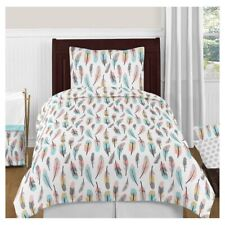 4pc SWEET JOJO DESIGNS Feather Comforter Set | TWIN | Multicolored | 🆕