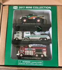 Hess 2017 Mini Collection Set of 3 Monster Truck/Truck + Copter/Emergency MIB