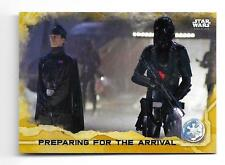 2016 Topps Star Wars Rogue One Series 1 GOLD Squad Parallel #45  Serial #23/50