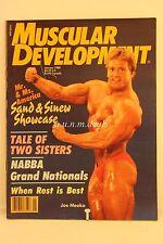 Muscular Development Magazine- Mr 1 Miss America, January 1988