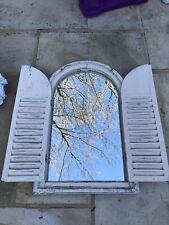 Rustic Wall Mirror Indoor/oudoor