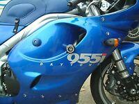 R&G Classic Style Crash Protectors for Triumph T595 1998