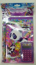Lisa Frank Panda 7-Piece Calculator Set * NEW & SEALED IN PACKAGE