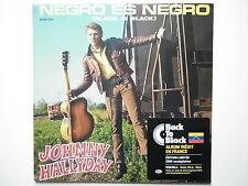 Johnny Hallyday 33Tours vinyle Negro Es Negro (Black Is Black) import Vénézuela