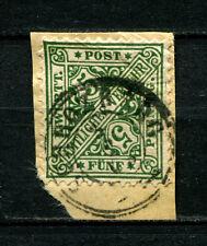 Württemberg  Schrozberg K3 auf Briefstück Nr. 209  (D382)