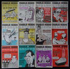 lot 57 CHARLIE HEBDO 1993 du n°64 au 131 Siné Cabu Gébé Cavanna Reiser Wolinski