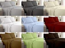 RV Bunk Sheet Set 4 Pcs 600 TC 100% Cotton Extra Deep Pocket Multi Color