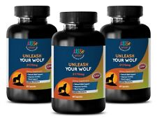 800mg - UNLEASH YOUR WOLF - Increases Sexual Health - Male Sex Boost - 3B 180Ct