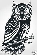 "OWL sticker decal car window vinyl Laptop Tribal Girl Love Owl 7"" Truck Fun"