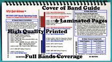 Amateur Radio HF / VHF /UHF Bands Guide, Band Guide