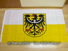 Fahnen Flagge Niederschlesien - 90 x 150 cm