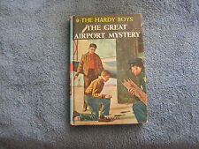 The Hardy Boys #9  Great Airport Mystery 1965