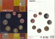 2007 Ufficiale 8 monete EURO PORTOGALLO fdc portugal