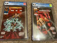 Ultimate Marvel Flip Magazine CGC #22 (9.0) & #23 (8.5) - Marvel Zombies (FF 4)