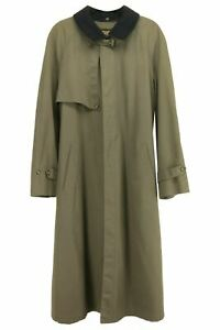 Christian Dior 100% Wool Men's Top Over Coat Removable Collar & Tweed Lining 44L