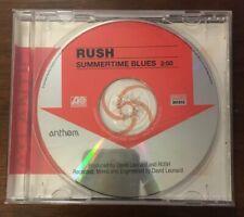 Rush Summertime Blues Promo Single CD One Track 2004 Geddy Lee Atlantic