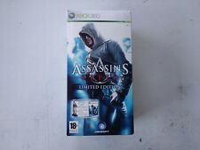 Coffret Collector Assassin's Creed 1 limited figurine Altair Xbox 360 FRancais