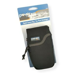 Peak By Lowepro PX-20 Zip Up Small Camera Case Carry Pouch - Black
