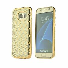 % LUXURY GEL Silikon Hülle Etui Handy Tasche Für Samsung Galaxy J7 2016 Gold