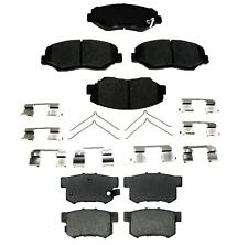 Front & Rear Ceramic Brake Pad Sets Kit ACDelco for Honda Civic LX 13 Automatic