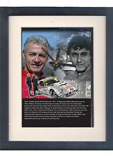In memory of Peter Brock. High quality framed print and clock