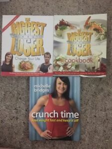 2 Biggest Loser Australia Change Your Life & Cookbook + Michelle Bridges Book